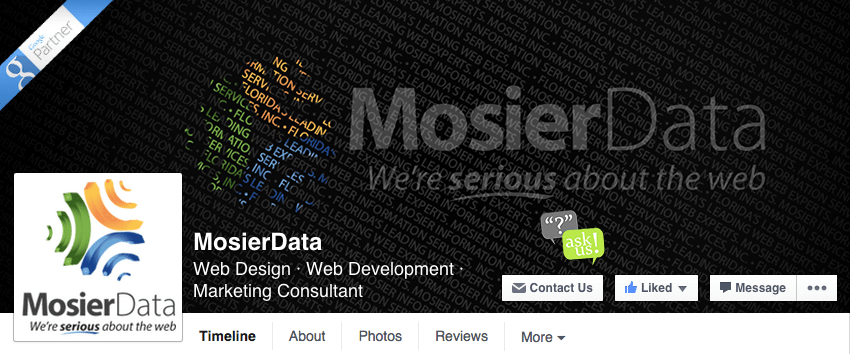 Mosier Data Facebook cover