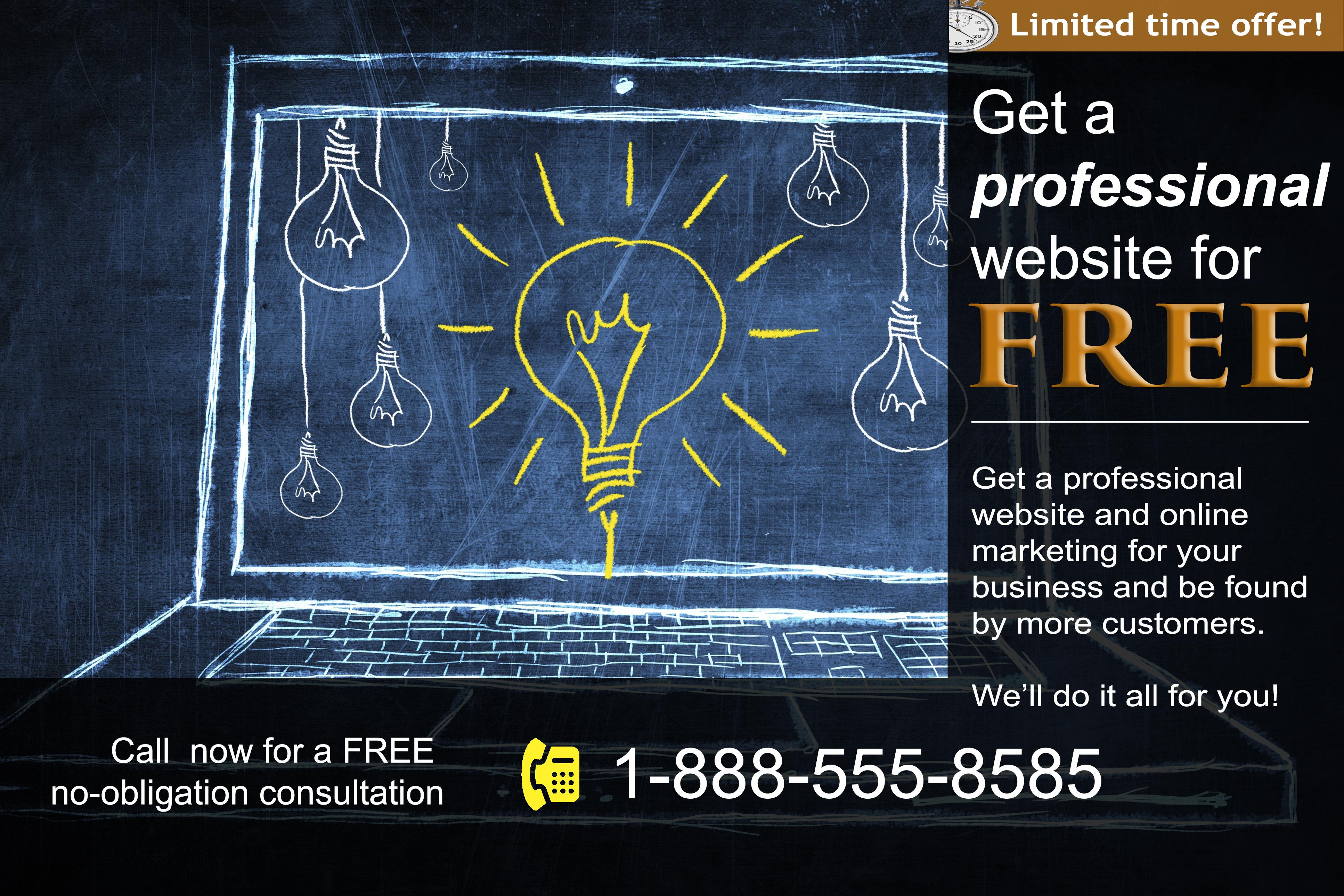 Free website ad