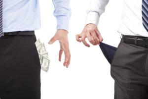 Money gone budget business owner entrepreneur