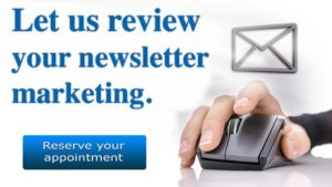 email newsletter CTA Review