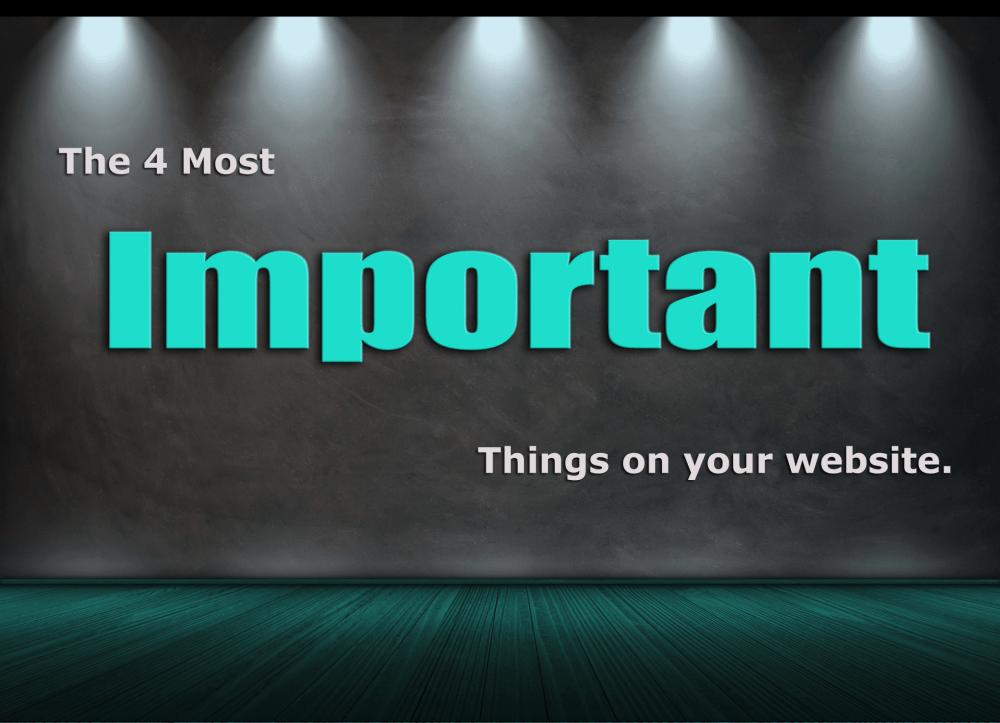 important website information