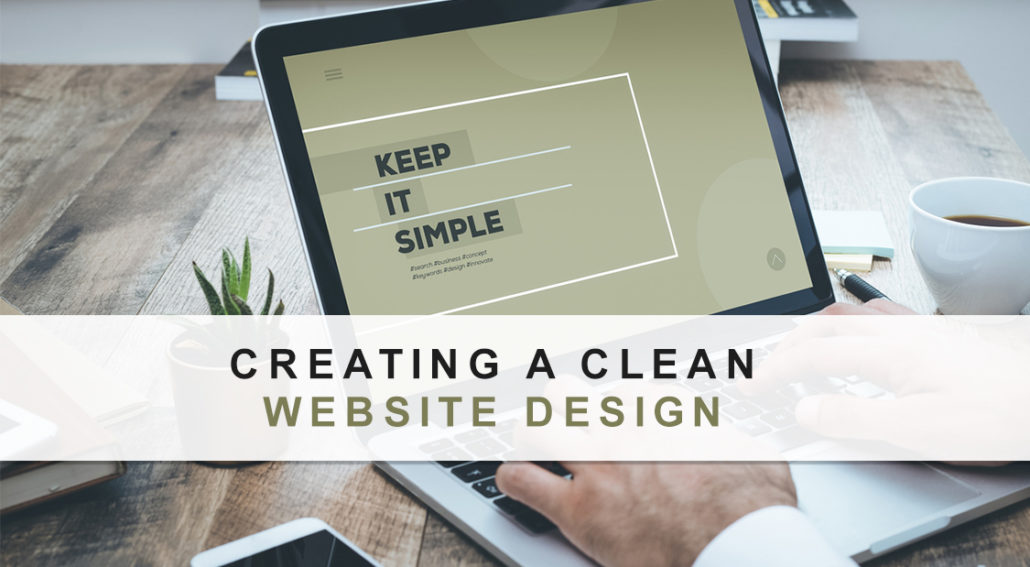 Creating A Clean Website Design