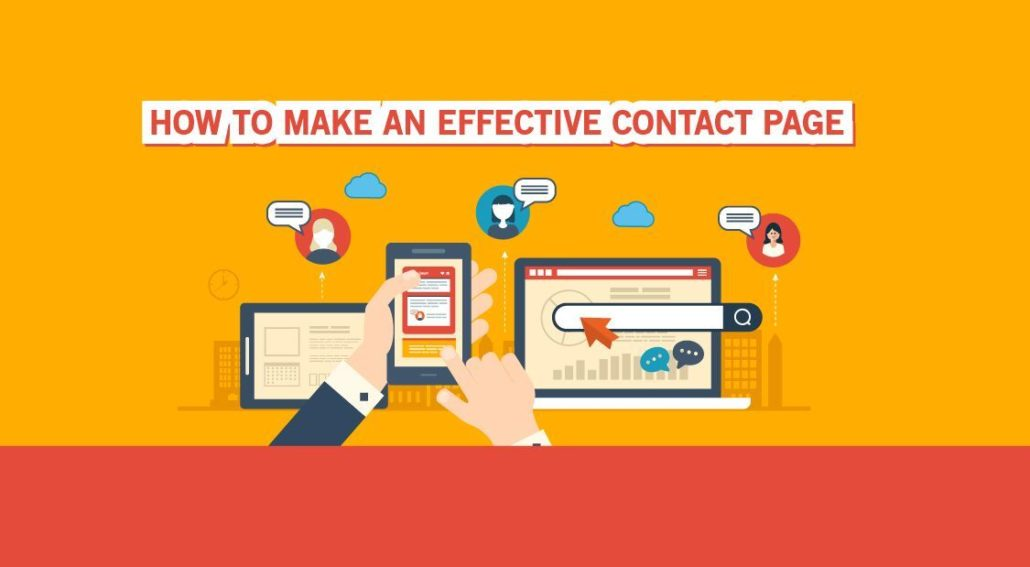 Make An Effective Contact Page