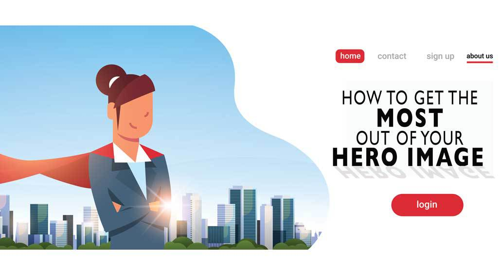How to Get the Most Out of Your Hero Image